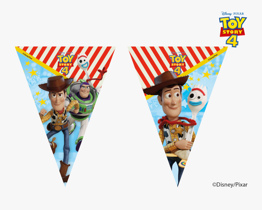 """Toy Story 4 Party Banner""""  Class=""""lazyload Lazyload - Toy Story 4 Party, Transparent Clipart"""
