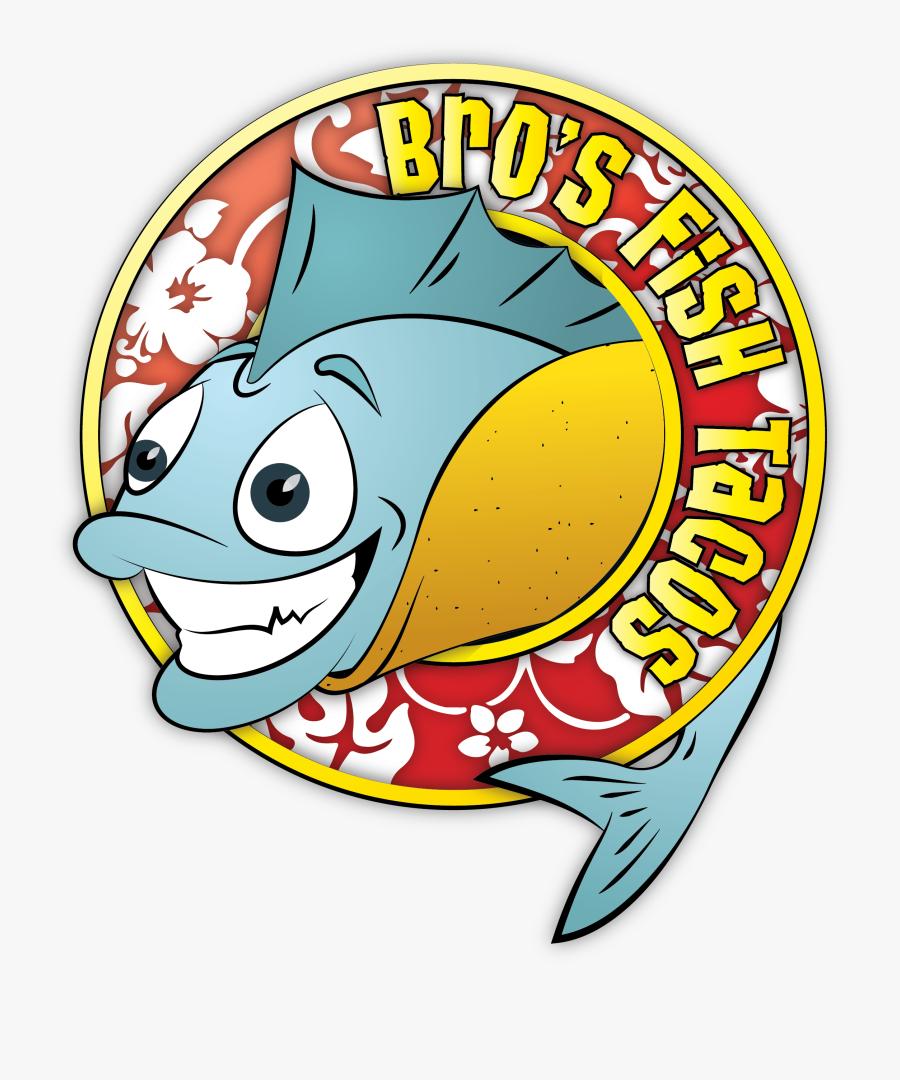Fish Tacos Clipart - Bro's Fish Tacos, Transparent Clipart