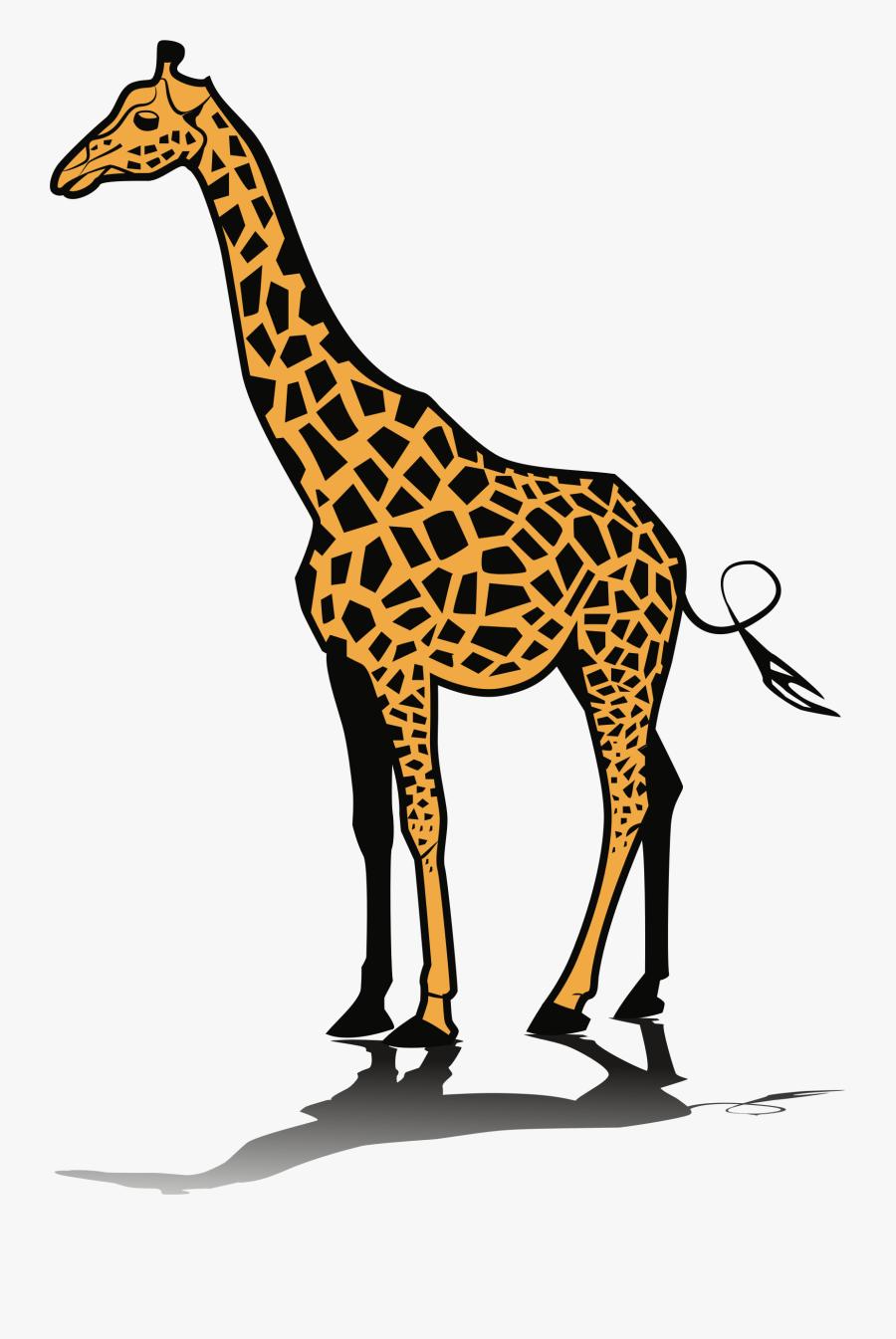 Clipart Giraffe - Clip Art Of Giraffe, Transparent Clipart