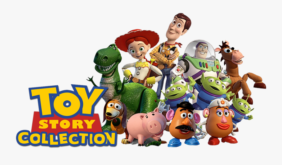 Clip Art Fundo Toy Story Png - Main Toy Story Characters, Transparent Clipart