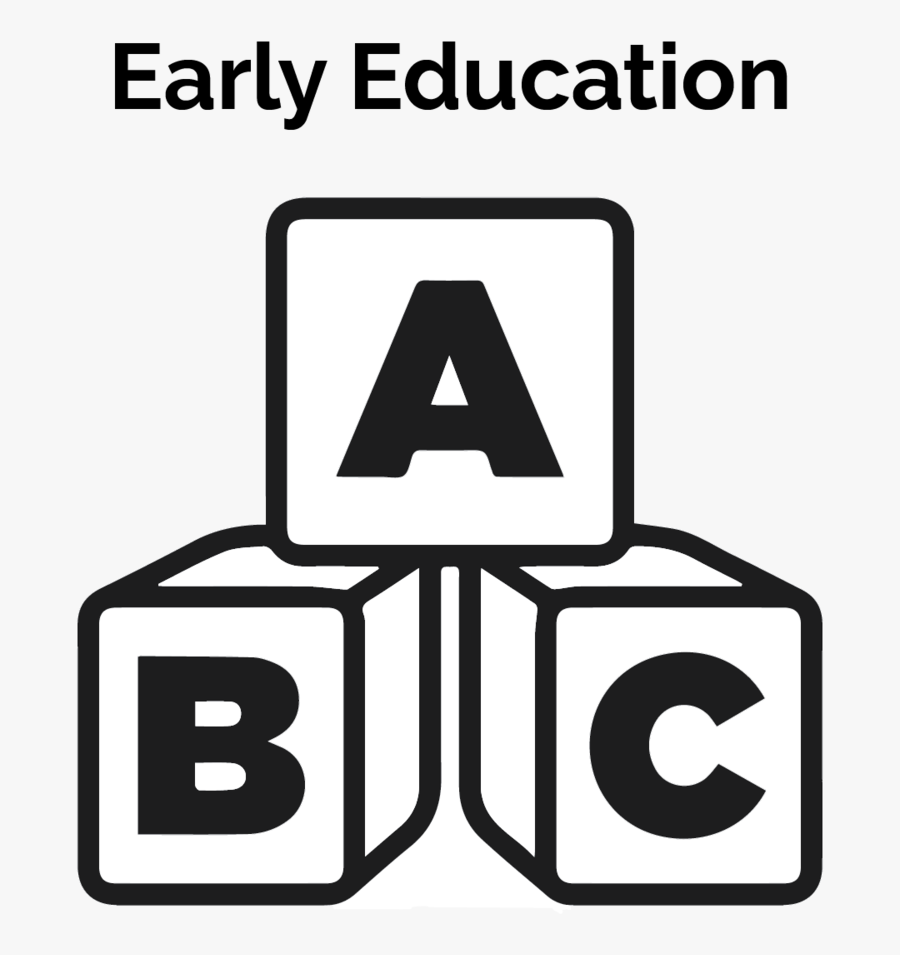 Copy Of Early Education - Early Childhood Icon, Transparent Clipart