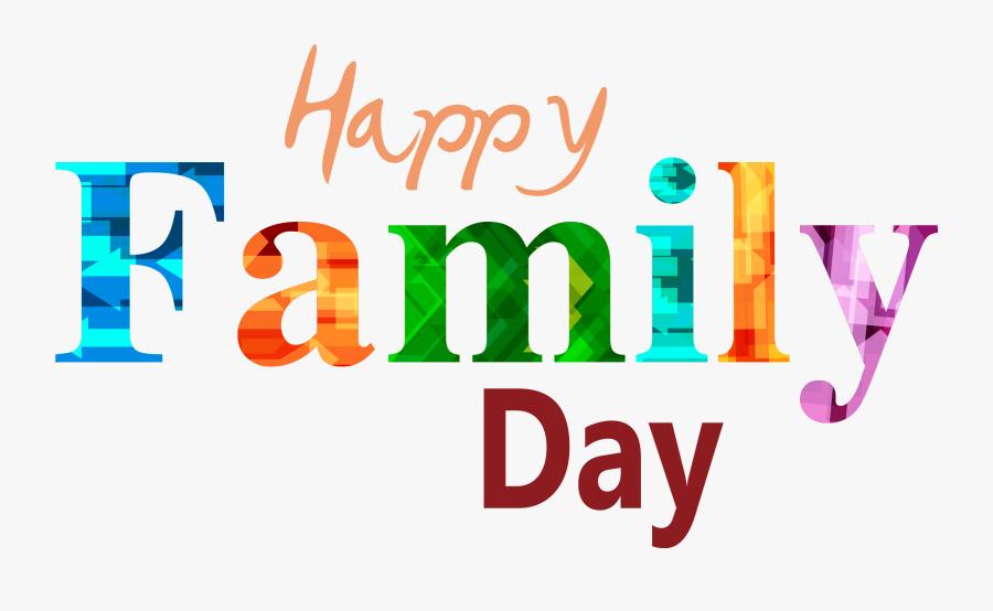 Transparent Family Reunion Clip Art - Logo Happy Family Png, Transparent Clipart