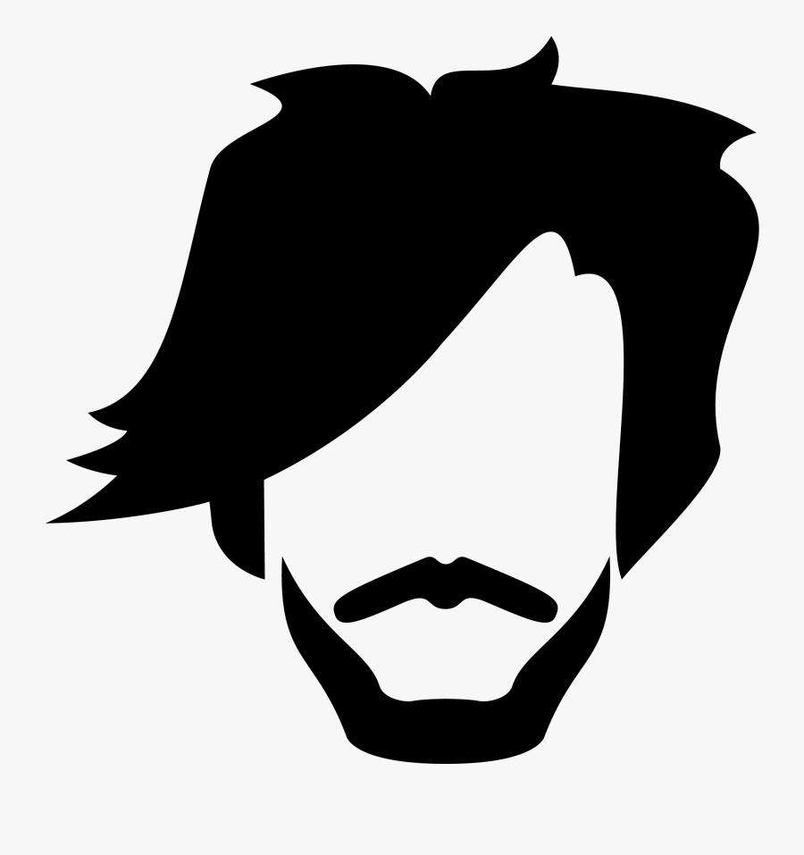 Transparent Hair Clip Art - Transparent Hair Clipart Men Free, Transparent Clipart