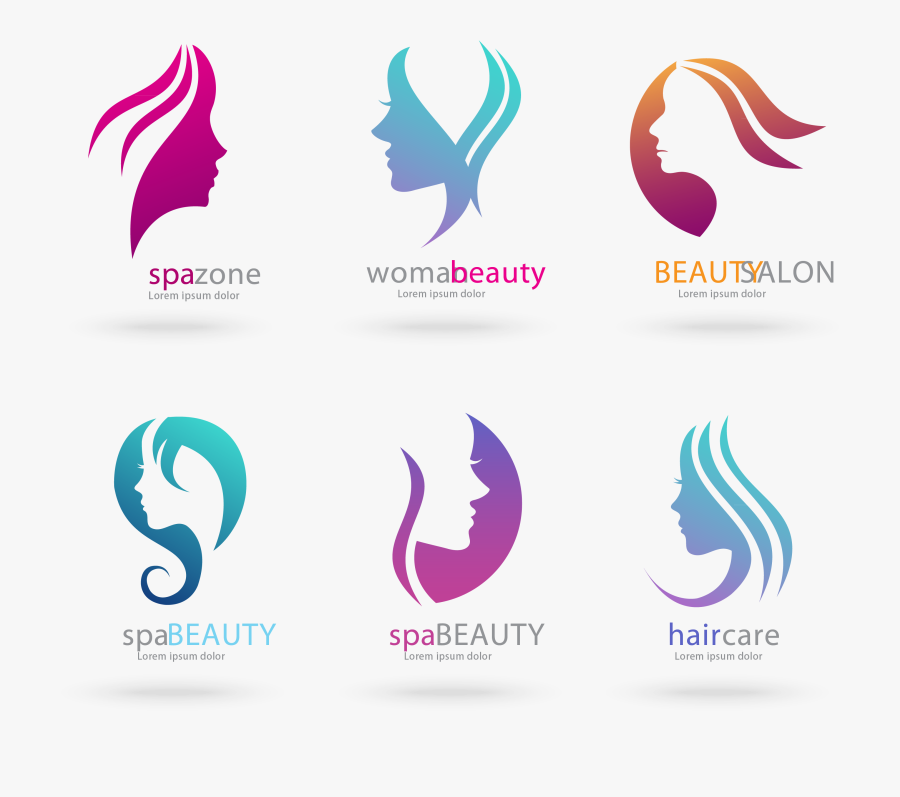 Beauty Salon Vector Gents Beauty Parlour Logo Free Transparent Clipart Clipartkey