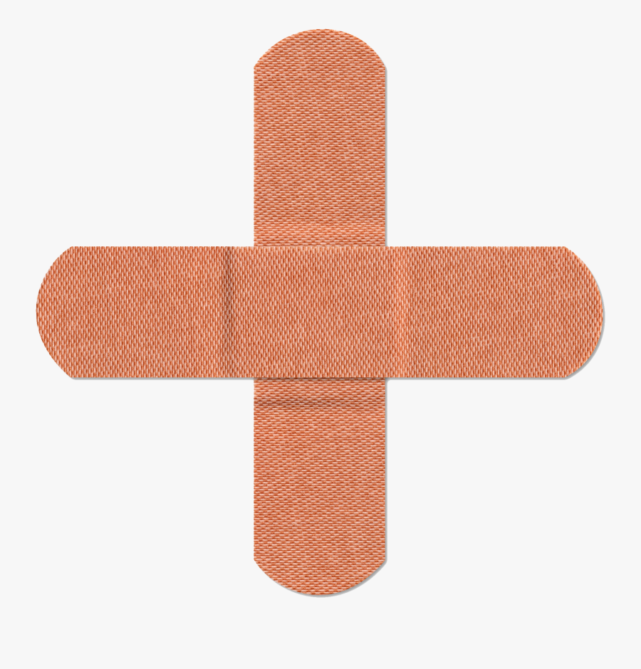 Bandage Cross Clipart , Png Download - Bandage Cross, Transparent Clipart