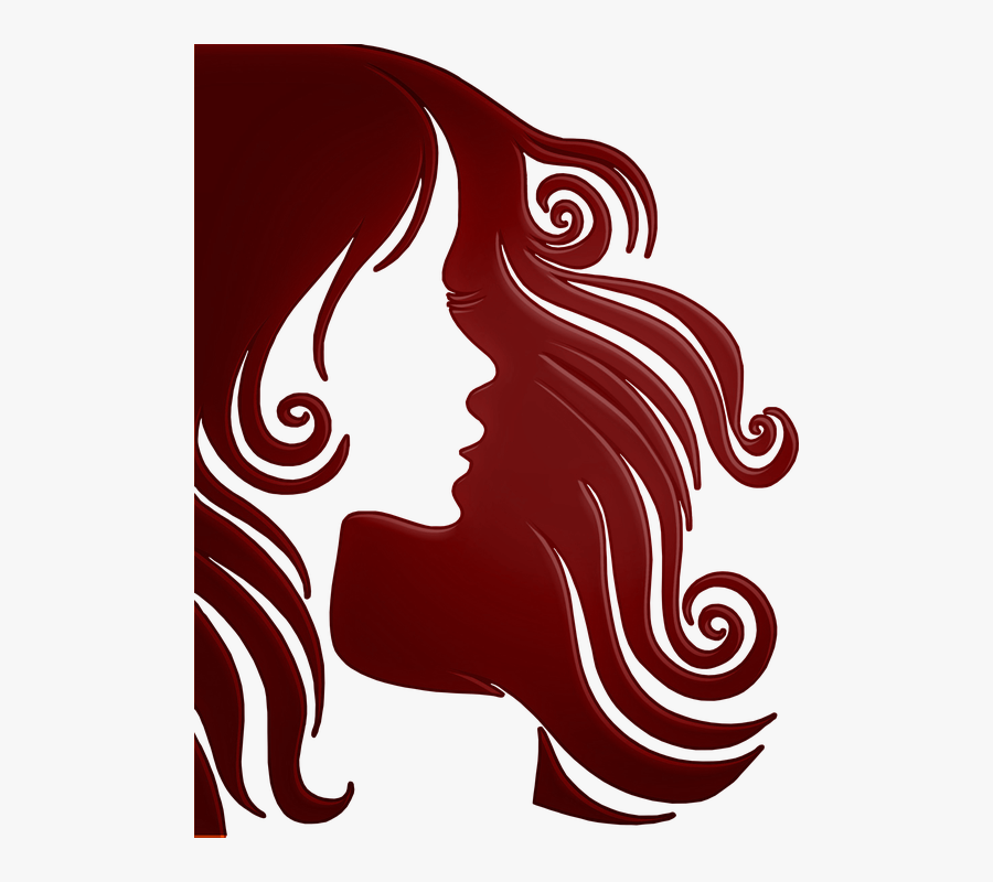 Heads Up Hair Salon Has Been Making Natick, Ma Look - Long Hair Silhouette Png, Transparent Clipart