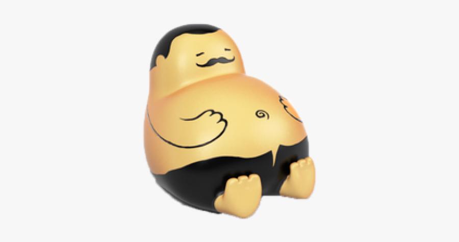 Sad Clipart Fat - Fat Man Thank You, Transparent Clipart