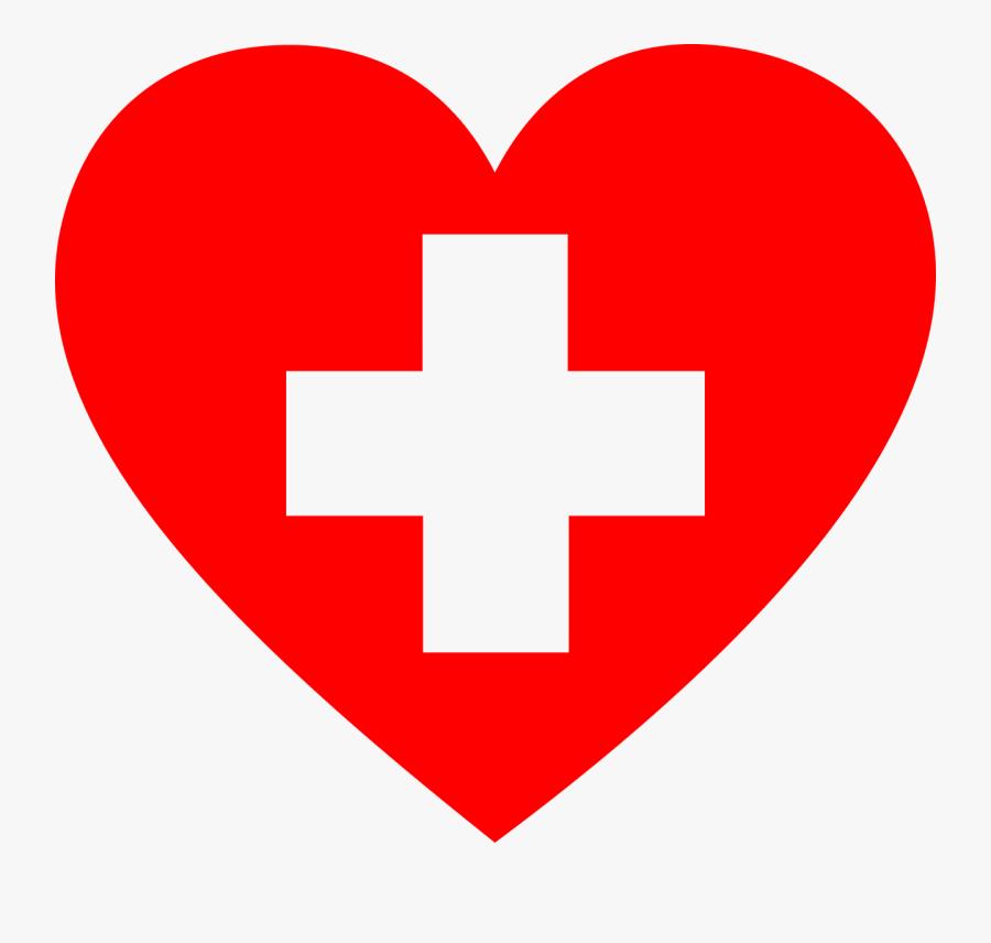 First Aid Heart - First Aid Heart Clipart, Transparent Clipart