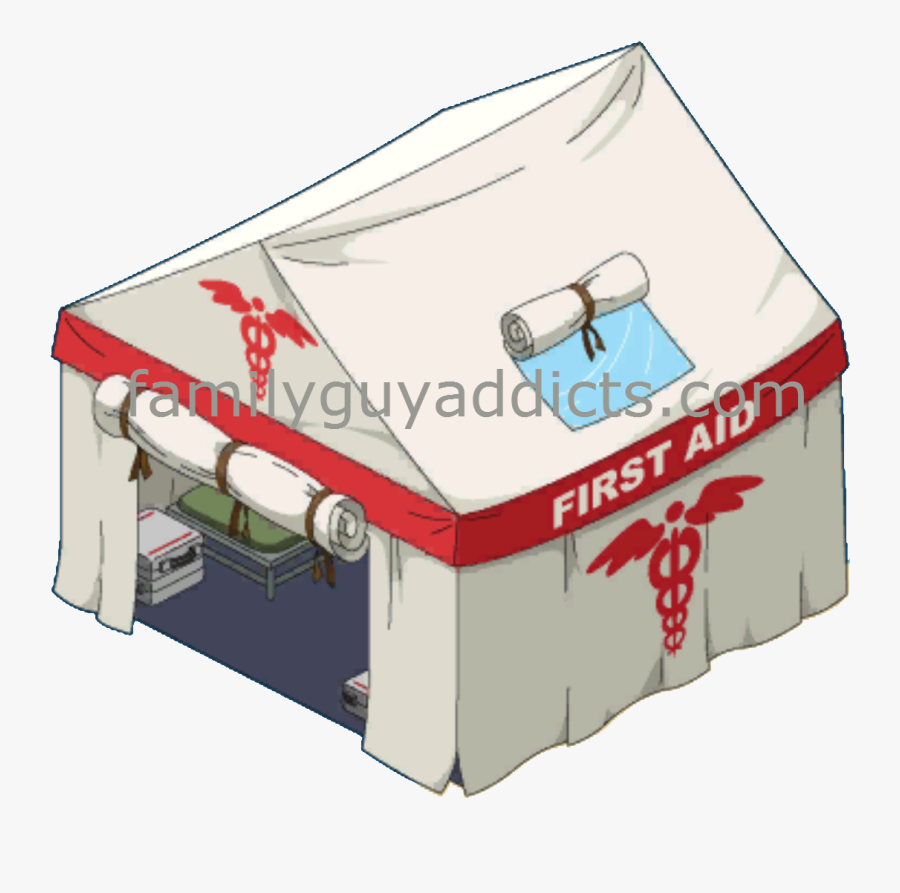 Peterpalooza Main Walkthrough - First Aid Tent Cartoon, Transparent Clipart