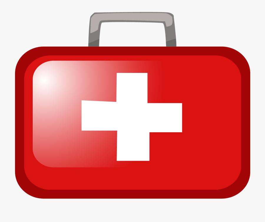 Transparent First Aid Clipart Free - Transparent First Aid Kit Clipart, Transparent Clipart