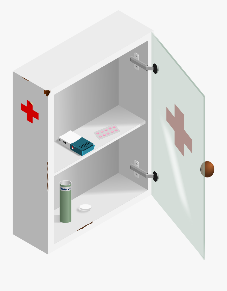 First Aid Box Size, Transparent Clipart