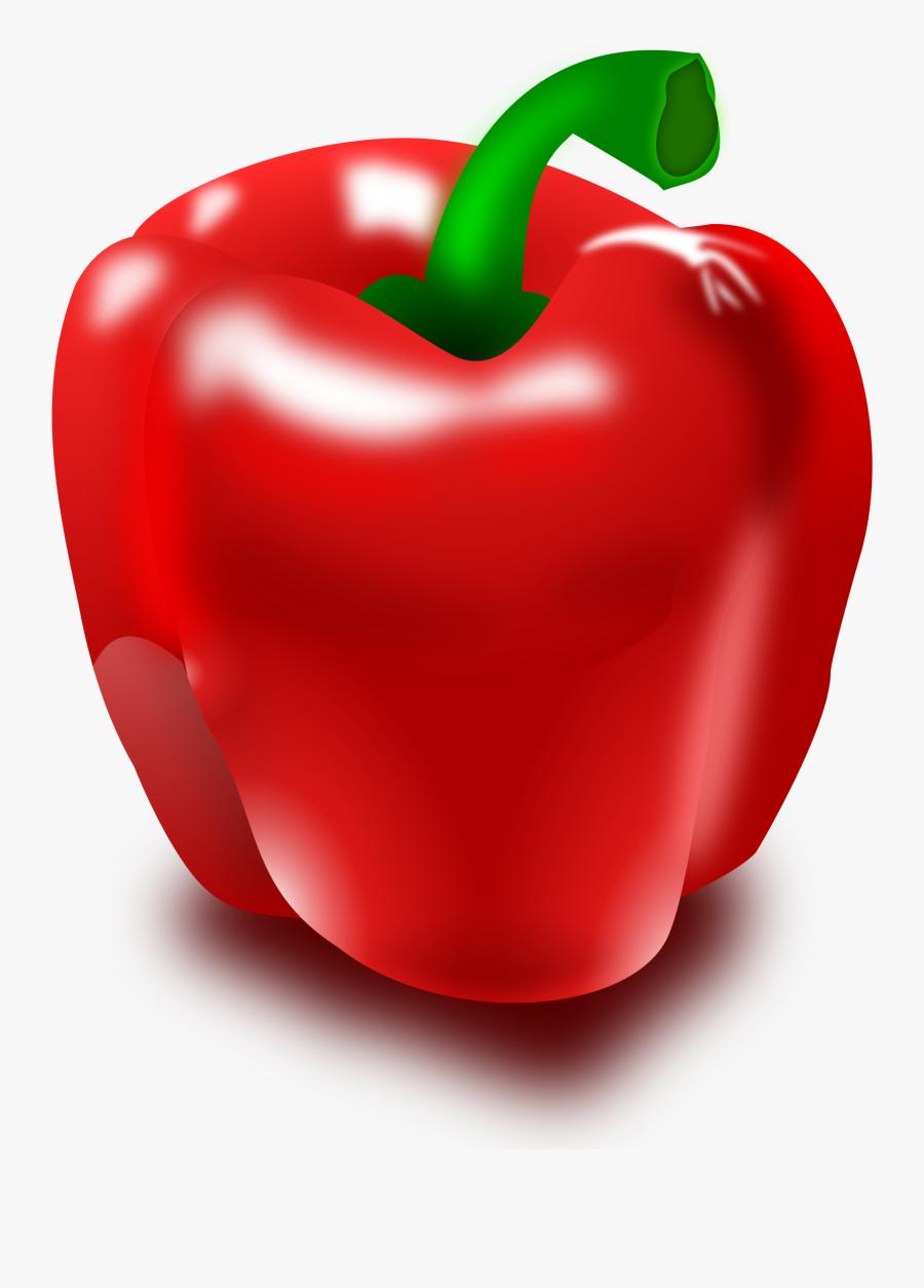 Clip Art Vegetables Bell, Transparent Clipart