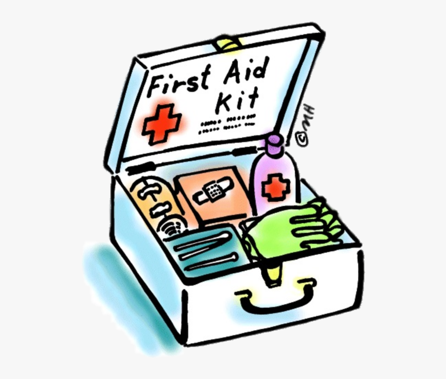 Kit For Your Next - First Aid Box Drawing, Transparent Clipart