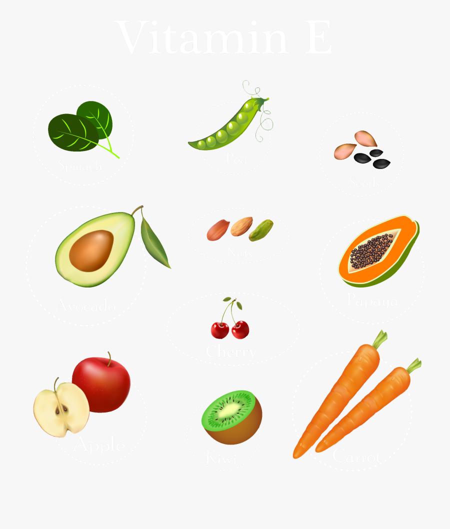 Vegetable Fruit Cuisine Clip Art - Vegetable Fruits Png Clipart, Transparent Clipart