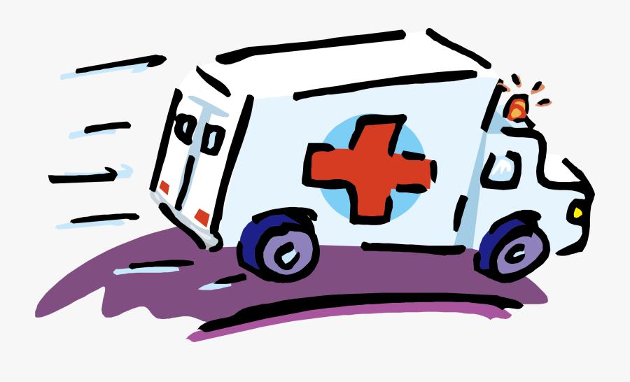 Transparent First Aid Clipart - First Aid Cartoon Ambulance, Transparent Clipart