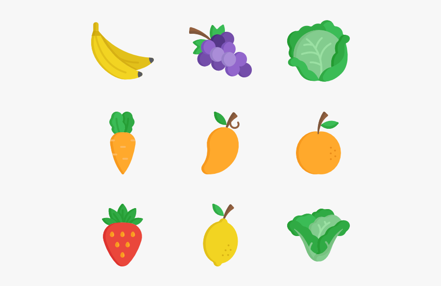 Jpg Free Library Fruits Vegetables At Getdrawings - Fruit And Veg Clipart, Transparent Clipart