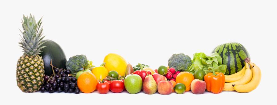 Transparent Fruits And Vegetables Png - Fruits And Vegetables Png, Transparent Clipart