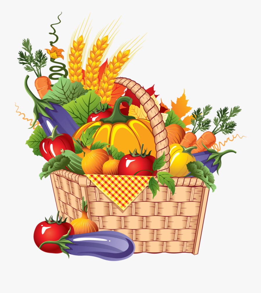 Png Clip Art - Vegetables And Fruits Drawing, Transparent Clipart