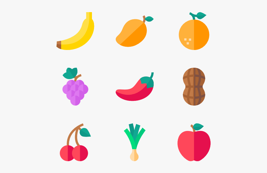 Fruits & Vegetables - Vegetable Vector Icon Png, Transparent Clipart
