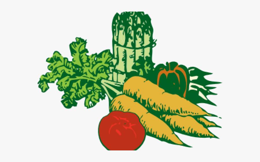 Vegetable Cliparts - Vegetables Clipart Transparent Background, Transparent Clipart