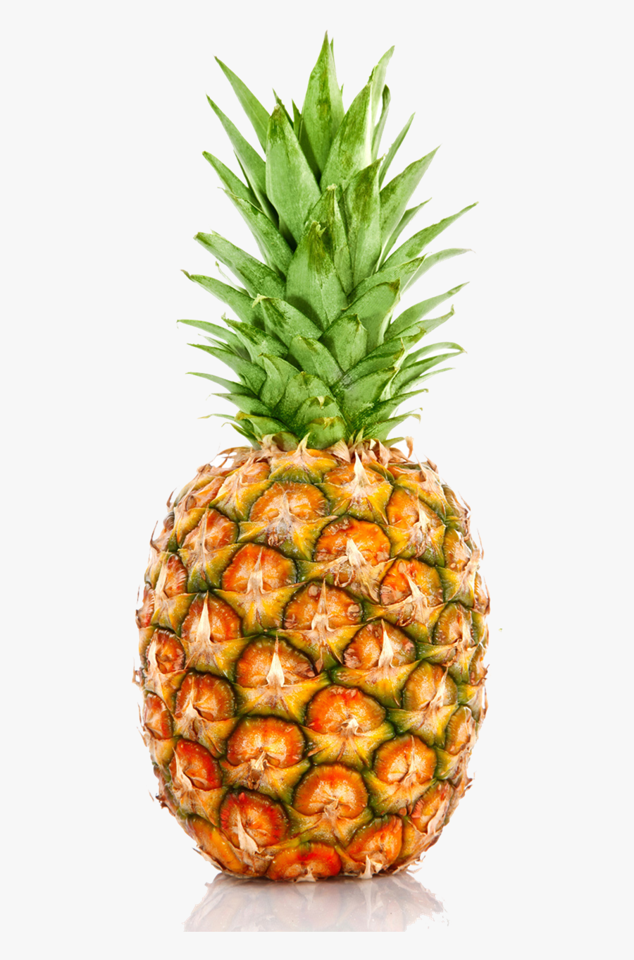 Transparent Pineapples Clipart - Individual Fruits And Vegetables, Transparent Clipart