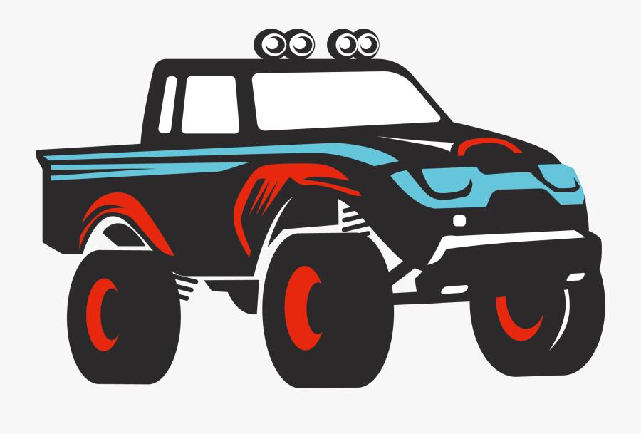 Clip Art Car Jeep Automotive Design - Off-road Vehicle, Transparent Clipart