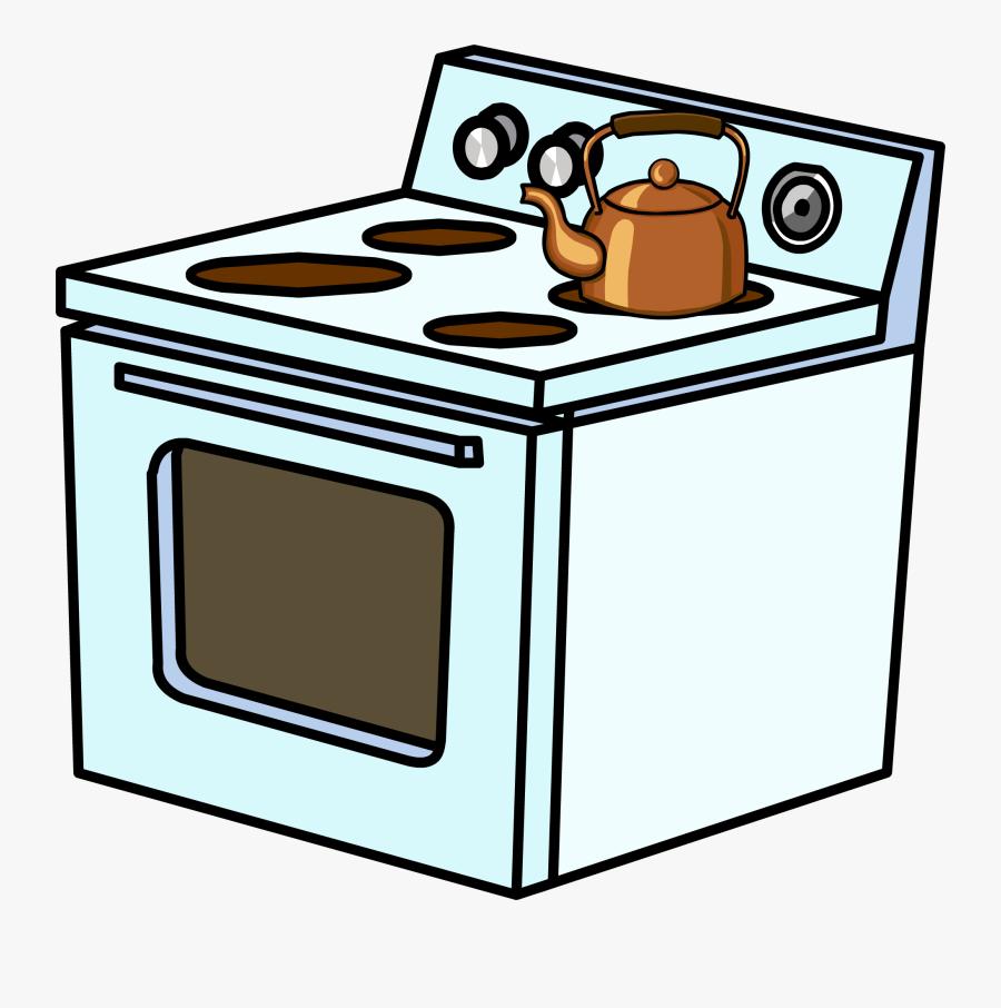 Electric Stove Sprite - Clipart Images Of Electricity Appliances, Transparent Clipart