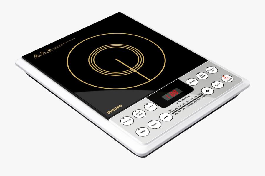 Induction Stove Png Image - Philips Induction Cooker Hd4929, Transparent Clipart