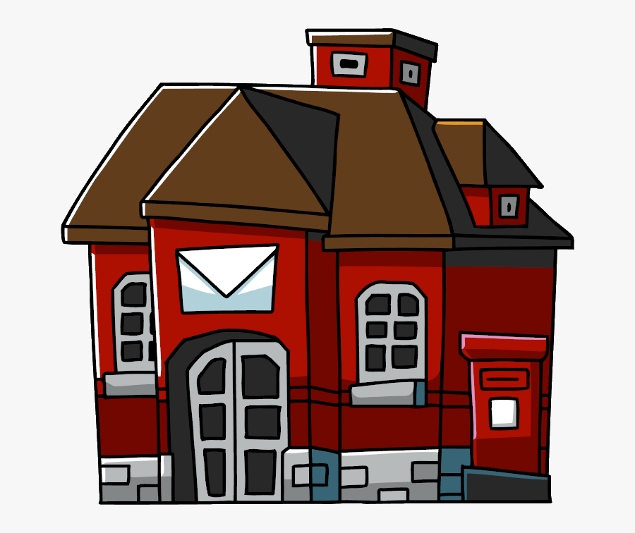 Image - Post Office Png, Transparent Clipart
