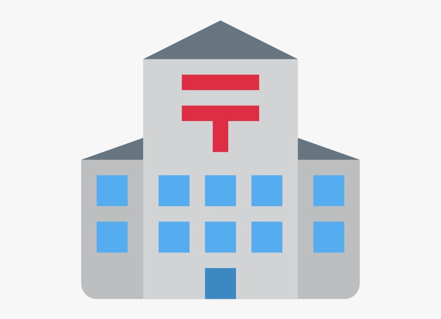 Download Japanese Post Office Symbol Clipart Japan - Post Office Emoji, Transparent Clipart
