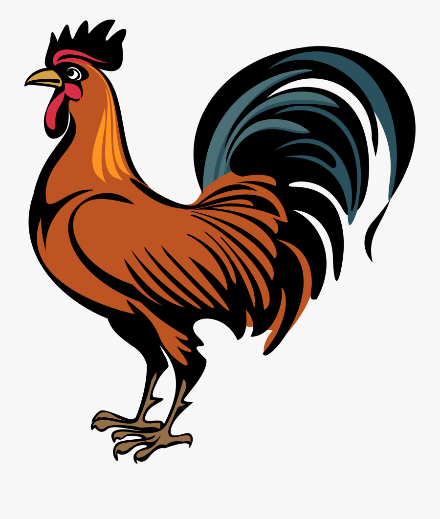 Figure,wing - Transparent Background Rooster Clipart, Transparent Clipart