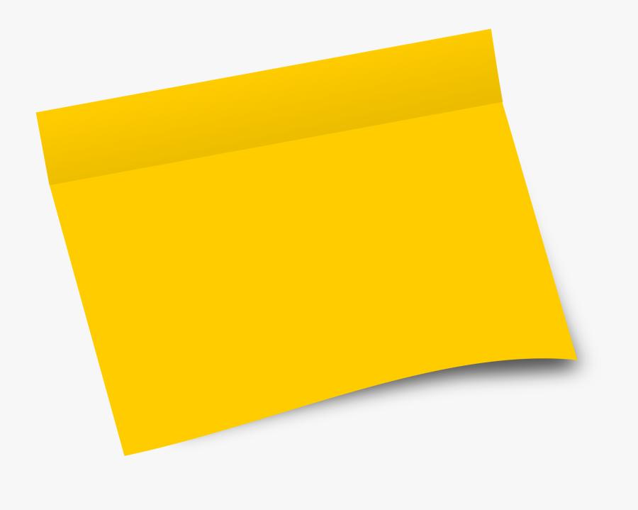Post It Post Office Clipart Hostted - Hojas De Papel De Colores Png, Transparent Clipart