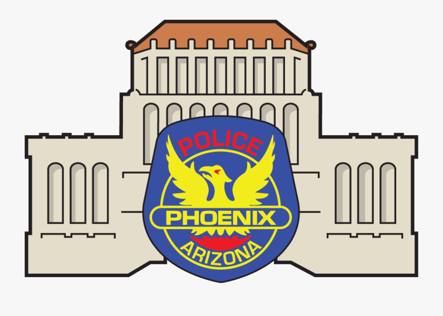 Hd Phoenix Police Museum - City Of Phoenix Police Department Badge, Transparent Clipart