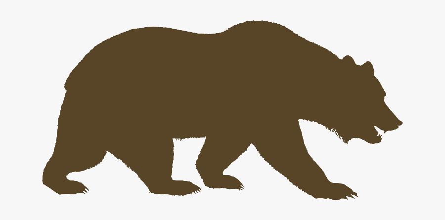 University Of California, Berkeley American Black Bear - Bear Walking Clip Art, Transparent Clipart