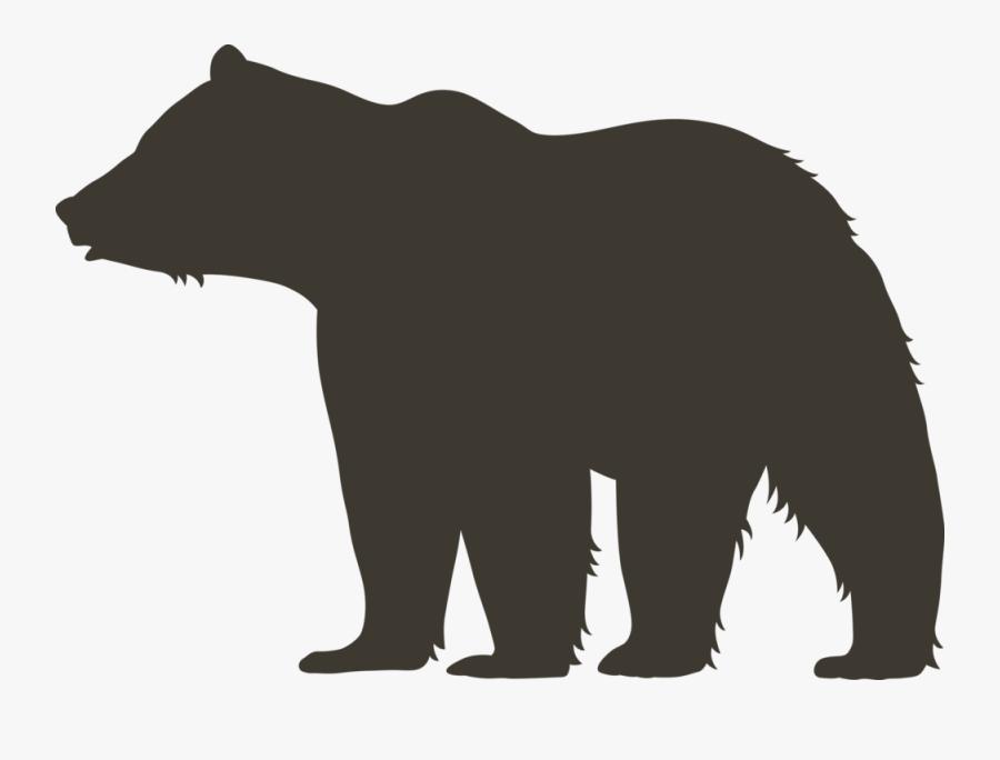 American Black Bear, Transparent Clipart
