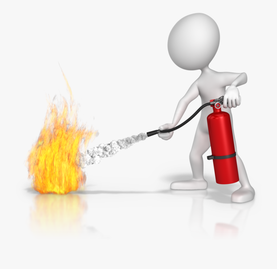Extinguisher Png Fire Extinguisher Use Cartoon Free Transparent Clipart Clipartkey