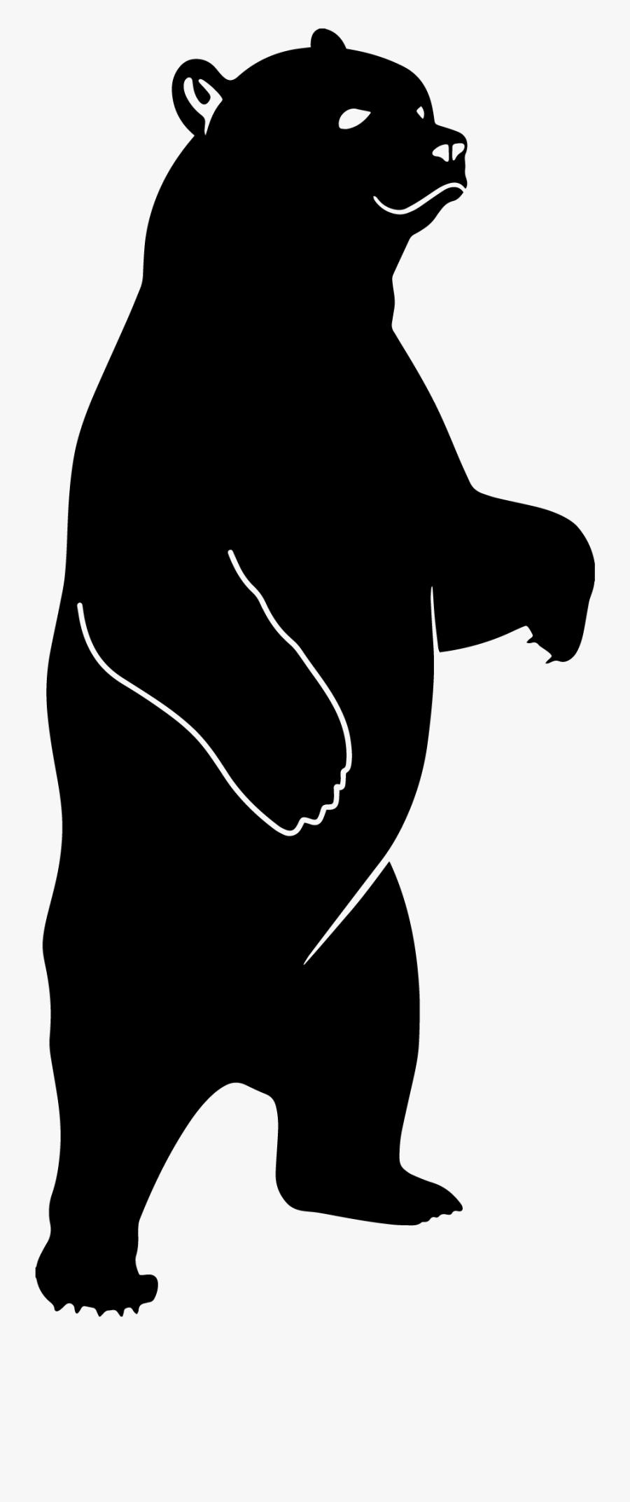Bear Dxf, Transparent Clipart