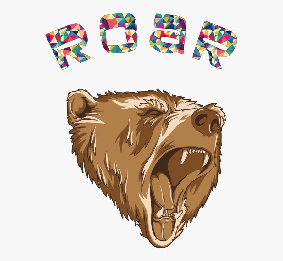 Wildlife,big Cats,paw - Roaring Bear Logo Png, Transparent Clipart