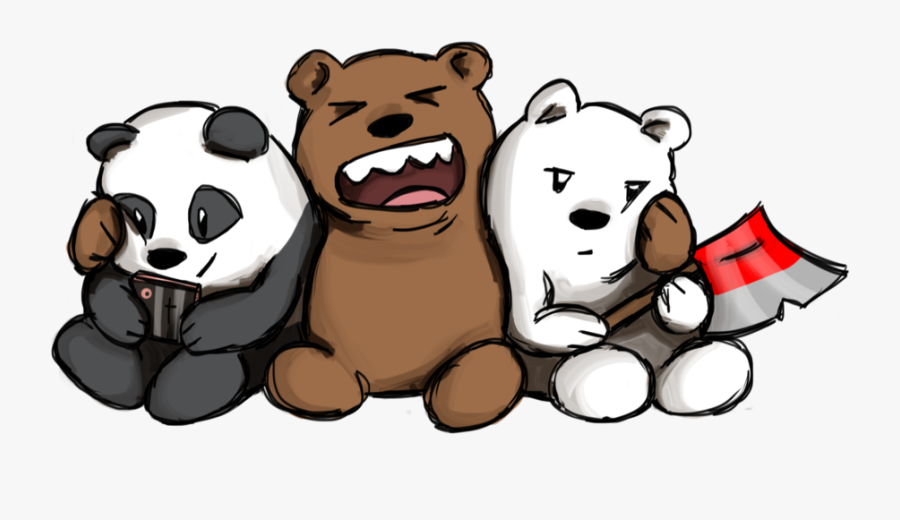 Lonewolf510 126 67 We Bare Bears By Truelovestory Clipart - We Bare Bears Drawing, Transparent Clipart