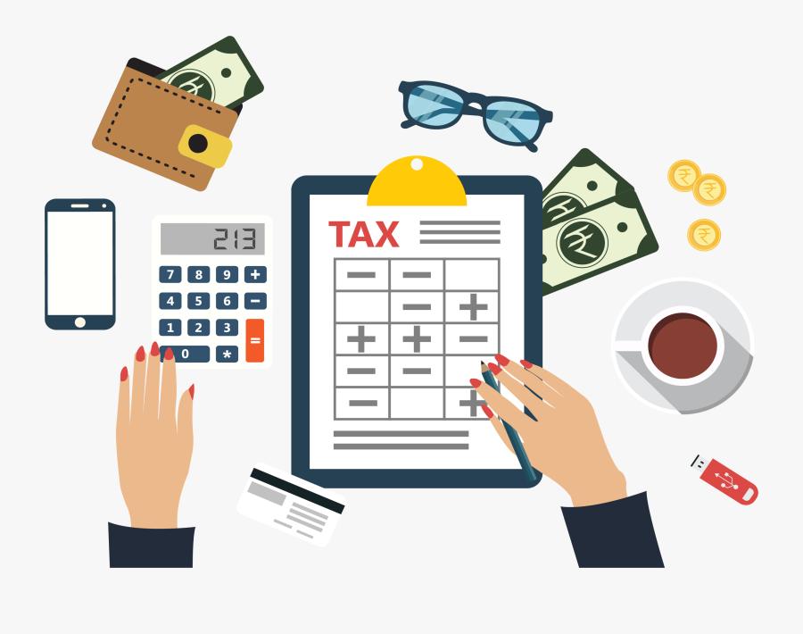 New Tax Brackets - Tax Illustration Png, Transparent Clipart