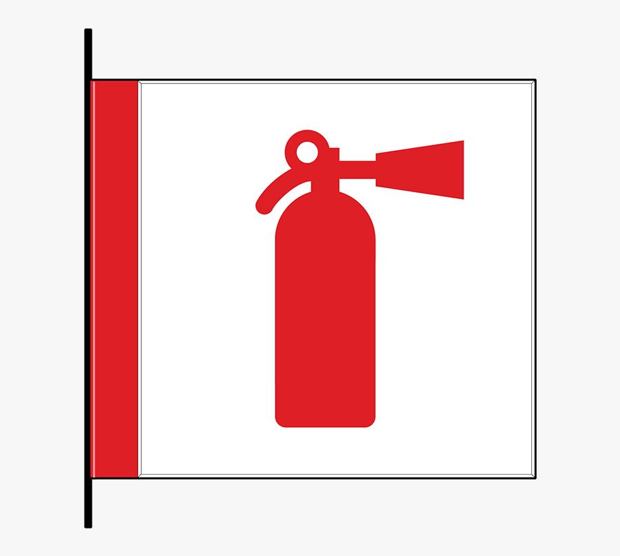 Fire Extinguisher Cabinet Id, Flag Mount - Fire Extinguisher Symbol, Transparent Clipart