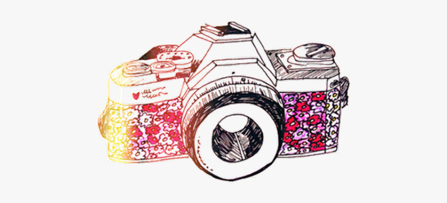Camera Drawing Color Png Free Transparent Clipart Clipartkey