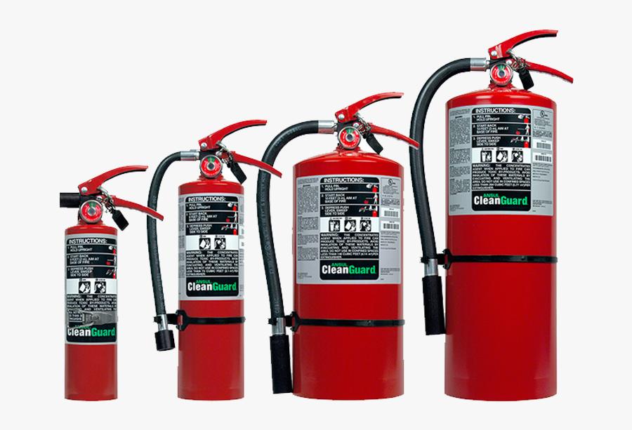 Transparent Fire Extinguisher Png - Clean Agent Fire Extinguisher, Transparent Clipart