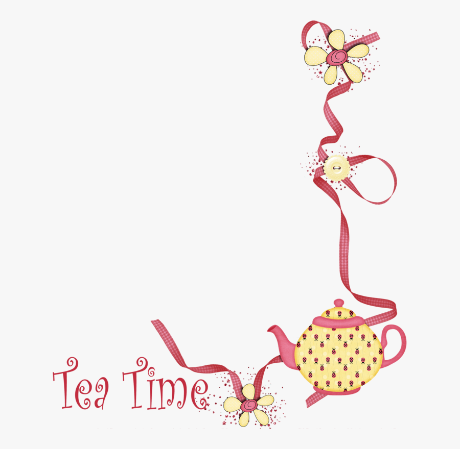 Tea Party Background Png, Transparent Clipart