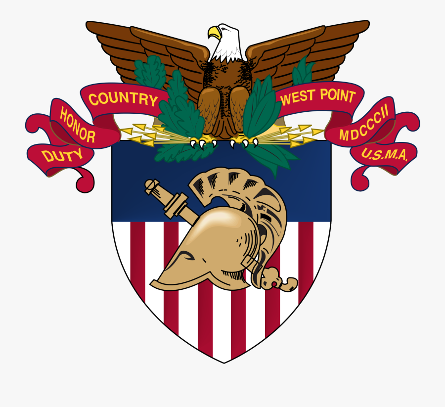 Military Clipart Svg - United States Military Academy West Point Logo, Transparent Clipart