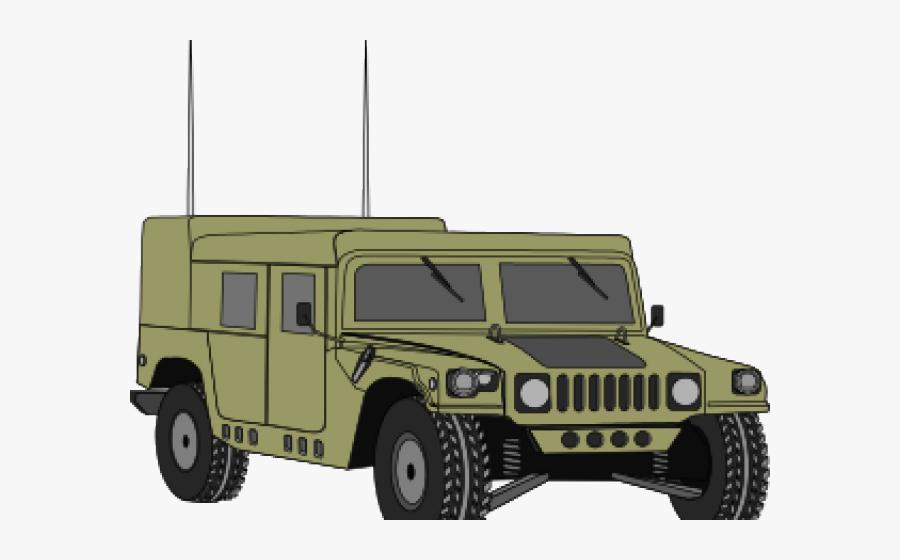 Military Humvee Clip Art, Transparent Clipart