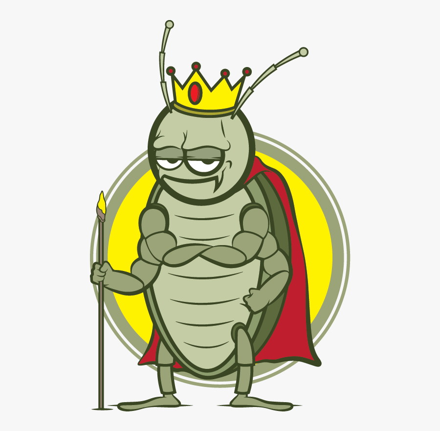 King Bugs Pest Control, Corp - King Of The Cockroaches, Transparent Clipart