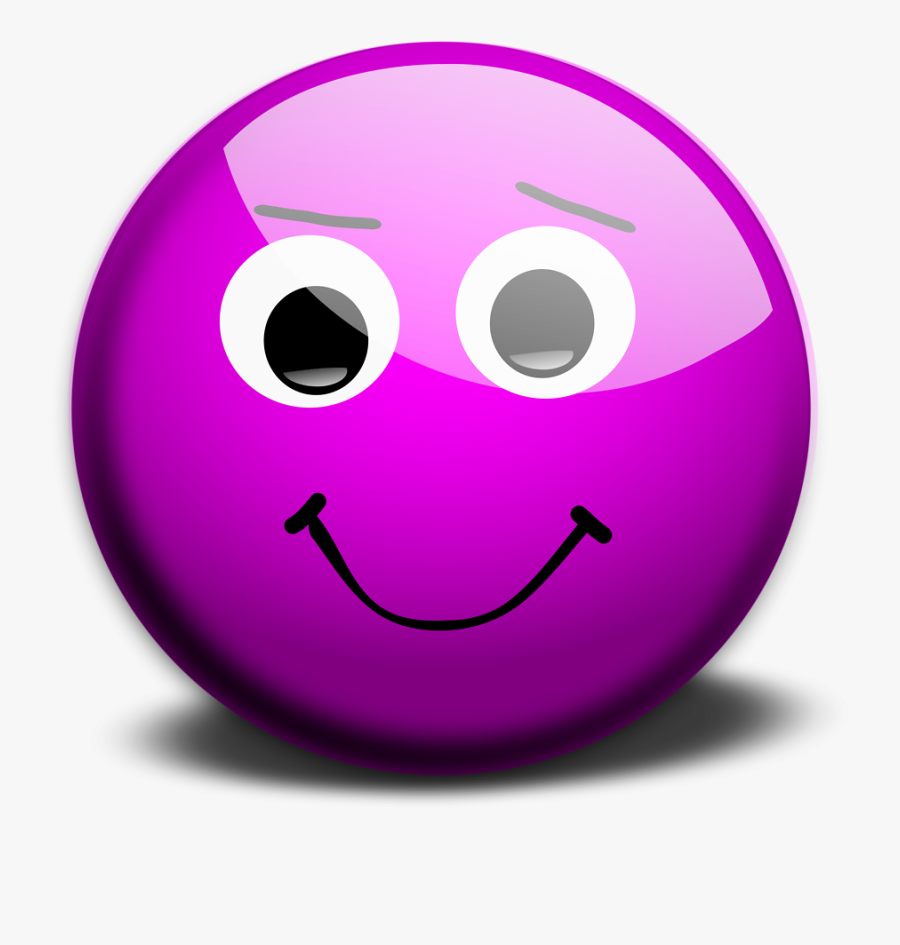 Sad Emoji Clipart Smiley - Animated Moving Smiley Face, Transparent Clipart