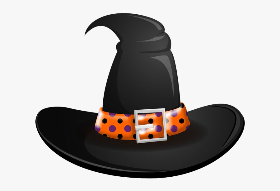 Witch Hat Halloween Clip Art Clipart Photo Transparent Orange Witches Hat Clipart Free Transparent Clipart Clipartkey