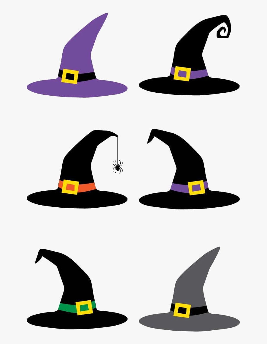 Witch Hat Cut Files Clip Art Hey Lets Make Stuff Transparent - Witches Hats Clip Art, Transparent Clipart